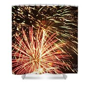 4th Of July Fireworks Shower Curtain by Joe Carini - Printscapes