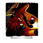 '68 Gibson Shower Curtain by Christopher Gaston