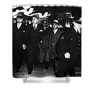 ALPHONSE CAPONE (1899-1947) Shower Curtain by Granger