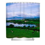 Bantry Bay, Co Cork, Ireland Shower Curtain by The Irish Image Collection