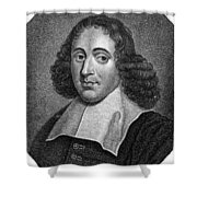 BARUCH SPINOZA (1632-1677) Shower Curtain by Granger