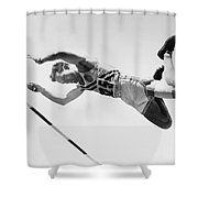 Bob Richards (1926- ) Shower Curtain by Granger