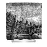 Bridge Of Sighs - Cambridge Shower Curtain by Yhun Suarez