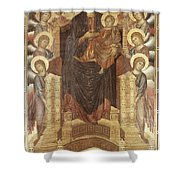 Cimabue: Madonna Shower Curtain by Granger