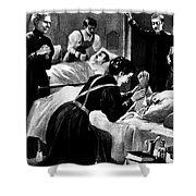 Clara Barton (1821-1912) Shower Curtain by Granger