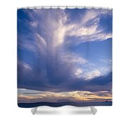 Cloud Formations Shower Curtain by Mary Van de Ven - Printscapes