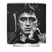 Cocaine 2013 Shower Curtain by Luis Ludzska