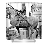 Gattamelata (1370-1443) Shower Curtain by Granger