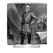 General Robert E. Lee Shower Curtain by War Is Hell Store