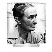 Georgia Okeeffe (1887-1986) Shower Curtain by Granger