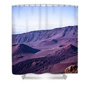 Haleakala Sunrise On The Summit Maui Hawaii - Kalahaku Overlook Shower Curtain by Sharon Mau