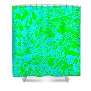 Harmony 8 Shower Curtain by Will Borden