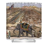 India: Sepoy Mutiny, 1857 Shower Curtain by Granger