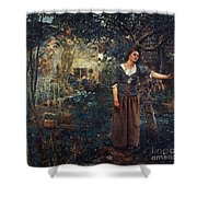Joan Of Arc C1412-1431 Shower Curtain by Granger