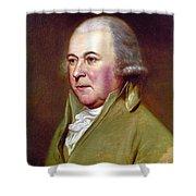 John Adams (1735-1826) Shower Curtain by Granger