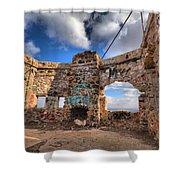 Kain Homestead Tucson Arizona Shower Curtain by Ed Cheremet