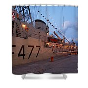 Portuguese Navy Frigates Shower Curtain by Gaspar Avila