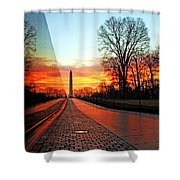 Resolve Shower Curtain by Mitch Cat