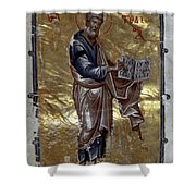 Saint Matthew Shower Curtain by Granger