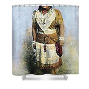 Sarah Winnemucca Shower Curtain by Granger