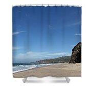 Scott Creek Beach California Usa Shower Curtain by Amanda Barcon