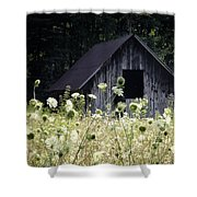 Summer Barn Shower Curtain by Rob Travis