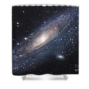 The Andromeda Galaxy Shower Curtain by Robert Gendler