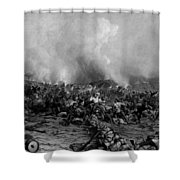 The Battle Of Gettysburg Shower Curtain by War Is Hell Store
