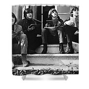 The Beatles, 1965 Shower Curtain by Granger