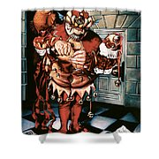 The Jesterook Shower Curtain by Patrick Anthony Pierson