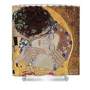 The Kiss Shower Curtain by Gustav Klimt