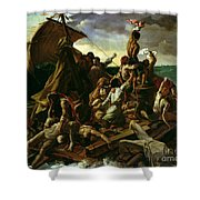 The Raft of the Medusa Shower Curtain by Theodore Gericault