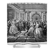 Washington Reception Shower Curtain by Granger