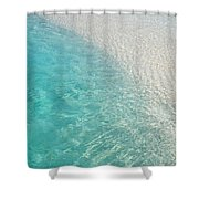 Water Meditation I. Five Elements. Healing With Feng Shui And Color Therapy In Interior Design Shower Curtain by Jenny Rainbow