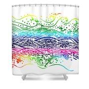 water pattern Shower Curtain by Setsiri Silapasuwanchai
