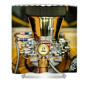 1920 Ford C-cab Pickup Hood Ornament 2 Shower Curtain by Jill Reger