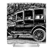1926 Ford Model T Shower Curtain by Bill Cannon
