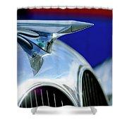 1935 Brewster Hood Ornament Shower Curtain by Jill Reger