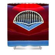 1954 Kaiser Darrin Grille Shower Curtain by Jill Reger