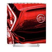 1963 Chevrolet Impala Ss Red Shower Curtain by Gordon Dean II