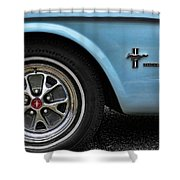 1964 Ford Mustang Shower Curtain by Gordon Dean II