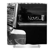 1966 Chevy Nova II Shower Curtain by Gordon Dean II