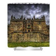 Bolsover Castle Shower Curtain by Yhun Suarez