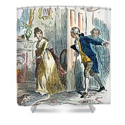 Dolley Madison (1768-1849) Shower Curtain by Granger