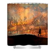 Forefathers Shower Curtain by Paul Sachtleben