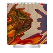 Intuition Shower Curtain by Omaste Witkowski