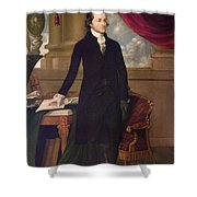 John Jay (1745-1829) Shower Curtain by Granger