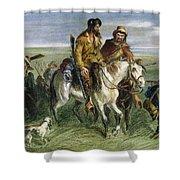 KANSAS-NEBRASKA ACT, 1856 Shower Curtain by Granger