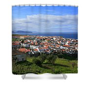 Maia - Azores Islands Shower Curtain by Gaspar Avila