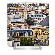 Paris Rooftops Shower Curtain by Elena Elisseeva